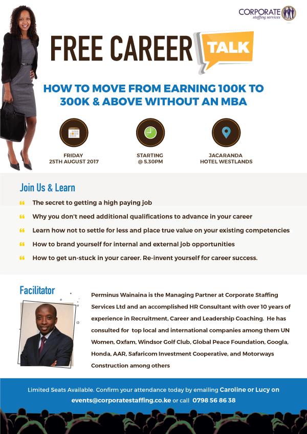 Free Career Talk Career Point Kenya